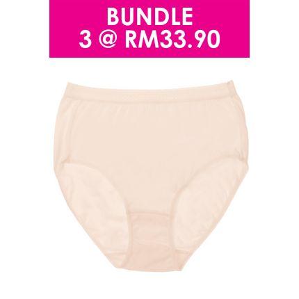 high waist maxi cotton panty