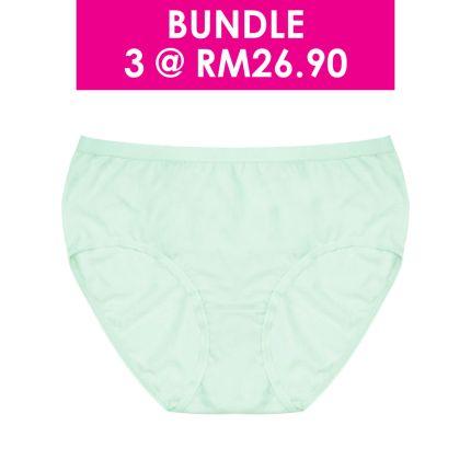 basic mid waist cotton panty