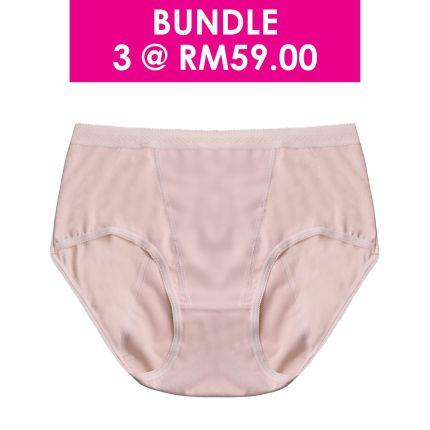 mid waist overnight sanitary panty