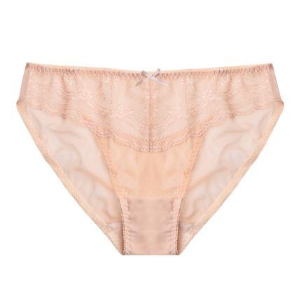 all new - nude liberty bikini panty