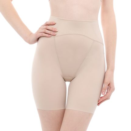 satin-touch long girdle