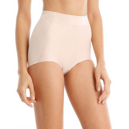 satin-touch short girdle