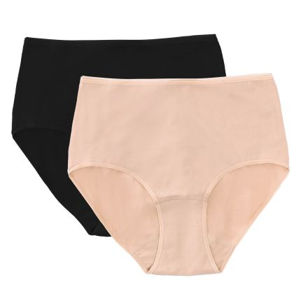 cotton spandex maxi panty (pack of 2)