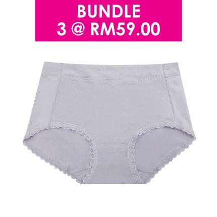 basic knitted boyleg panty