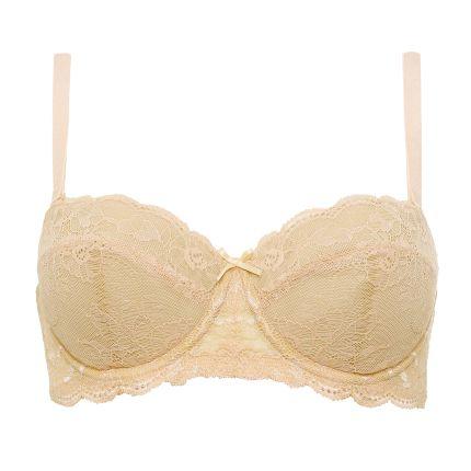 ariba strapless lace bra plus