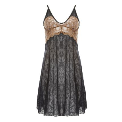 MARCELLA LACE TRIMMED SHEER SLIPS